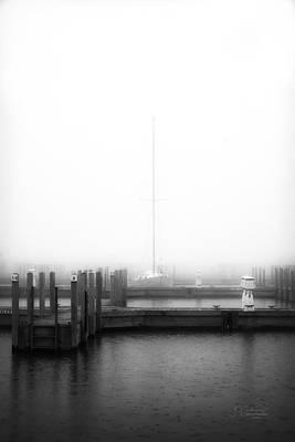 Photograph - Foggy Morning 2 by Allyson Schwartz