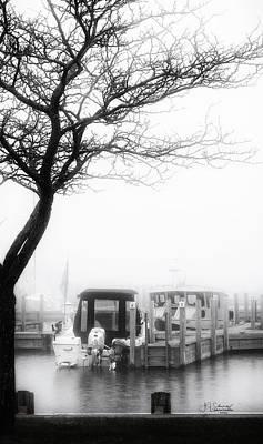 Photograph - Foggy Morning 3 by Allyson Schwartz