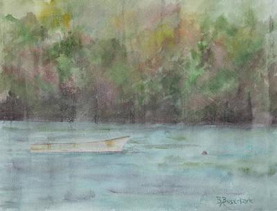 Painting - Foggy Morning by Barbara Busenbark