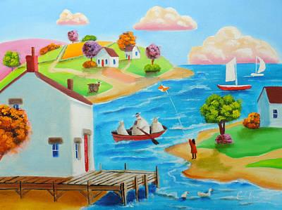 Painting - Folk Art Painting  by Gordon Bruce