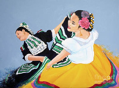 Painting - Folk Dance 3 by Gary 'TAS' Thomas