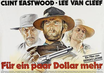 Royalty-Free and Rights-Managed Images - For a Few Dollars More, 1965 by Stars on Art
