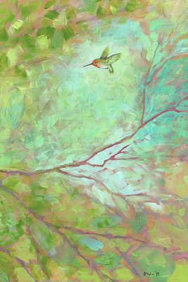 Animals Paintings - Forest Treasures III by Jennifer Lommers