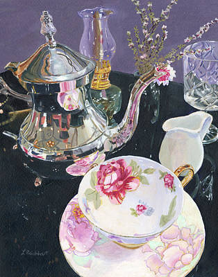 Recently Sold - Still Life Royalty-Free and Rights-Managed Images - Formal Tea by Lynne Reichhart