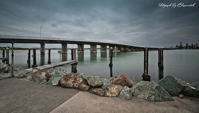 Modern Sophistication Beaches And Waves - Forster Bridge 12 by Kevin Chippindall