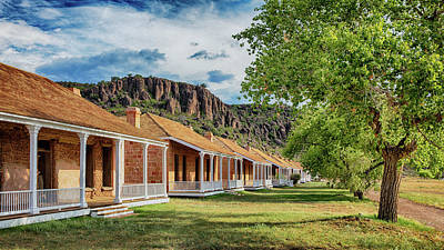 Mellow Yellow - Fort Davis National Historic Site- #1 by Stephen Stookey