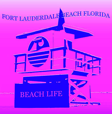 Royalty-Free and Rights-Managed Images - Fort Lauderdale Beach Florida by David Lee Thompson