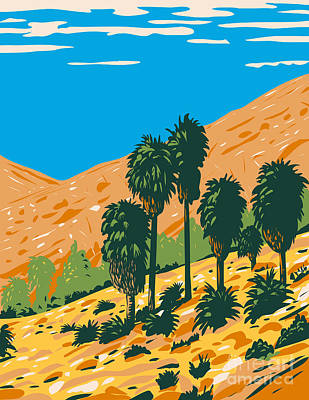 Personalized Name License Plates - Fortynine Palms Oasis an Out and Back Trail in a Rocky Canyon Located in Joshua Tree National Park California by Aloysius Patrimonio