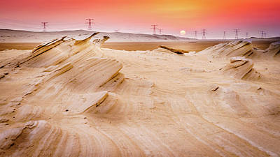 The Who - Fossil Dunes at sunset by Alexey Stiop