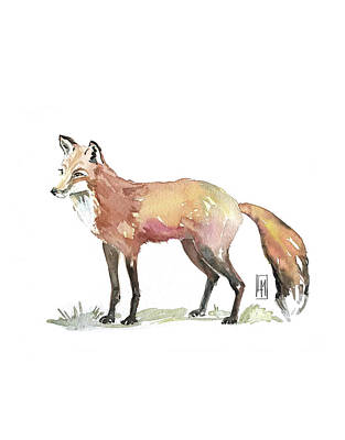 Bath Time Rights Managed Images - Foxy Royalty-Free Image by Luisa Millicent