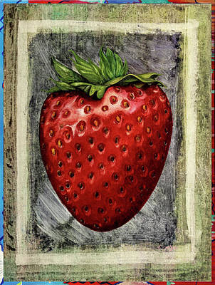 Royalty-Free and Rights-Managed Images - Fragola by Guido Borelli