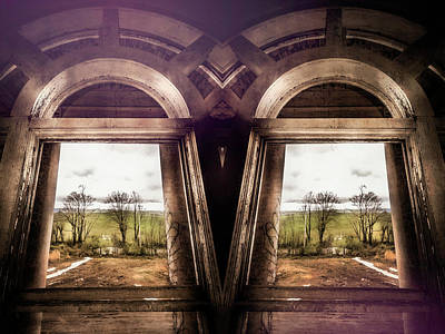 Surrealism Royalty-Free and Rights-Managed Images - Frame Dragging by Jim Love