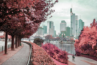 Surrealism Royalty-Free and Rights-Managed Images - Frankfurt, Germany - Surreal Art by Ahmet Asar by Celestial Images
