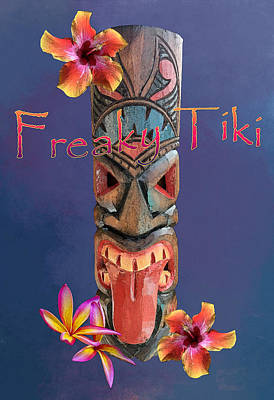 The Playroom Royalty Free Images - Freaky Tiki Royalty-Free Image by Anthony Jones