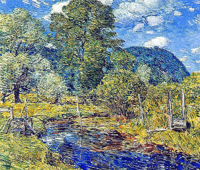 Kim Fearheiley Photography - Frederick Childe Hassam 1859 1935  Bedford Hills 1908 by Artistic Rifki