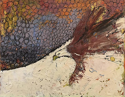 Painting - Free by Jude Lobe