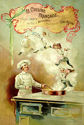 Have A Cupcake - French Cooking 1893 by Andrew Fare
