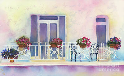 Royalty-Free and Rights-Managed Images - Fresh Winds Balcony by Amy Kirkpatrick