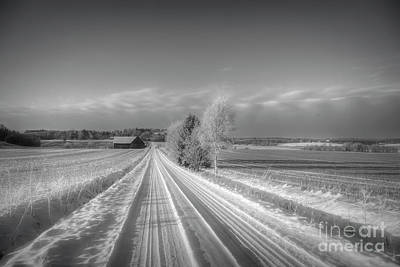 Fantasy Royalty-Free and Rights-Managed Images - Frosty morning 4 by Veikko Suikkanen