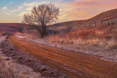 Royalty-Free and Rights-Managed Images - Frosty Sunrise in the Country by Darren White