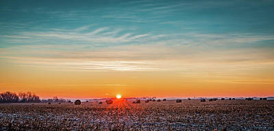 Photograph - Frosty Sunrise by Mike Cox