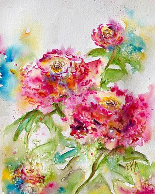Painting - Fulfilment by Evita Kristapsone