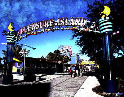 Door Locks And Handles - Fun day at Pleasure Island by David Lee Thompson