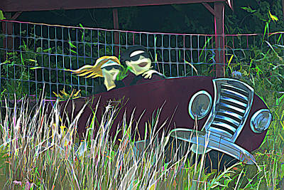 Spot Of Tea Royalty Free Images - Fun Find Along Route 66 Oklahoma Royalty-Free Image by Debra Martz