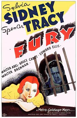 Royalty-Free and Rights-Managed Images - Fury, 1936 by Stars on Art