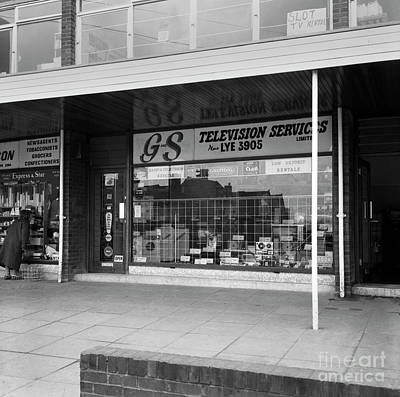 David Bowie - G and S Television Services, Lye Stourbridge  Ref-206 by William R Hart
