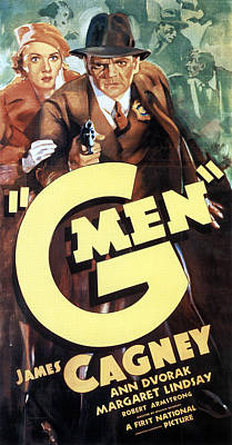 Bringing The Outdoors In - G Men - 1935 by Stars on Art