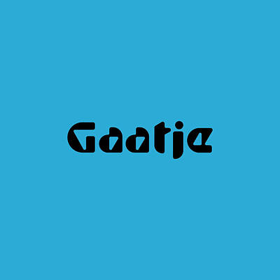 Royalty-Free and Rights-Managed Images - Gaatje by TintoDesigns