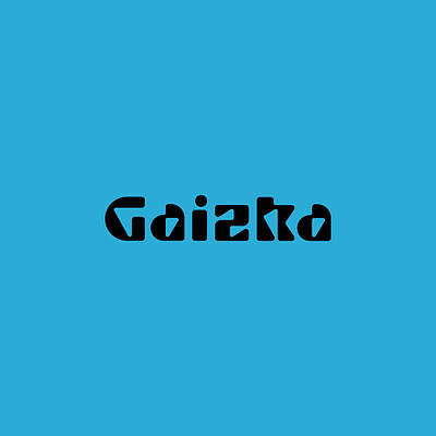 Royalty-Free and Rights-Managed Images - Gaizka by TintoDesigns