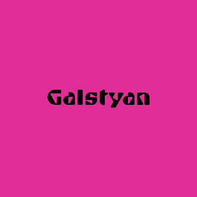 Royalty-Free and Rights-Managed Images - Galstyan by TintoDesigns