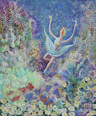 Painting - Garden Dancer by Manami Lingerfelt