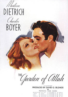 Bringing The Outdoors In - Garden of Allah - 1936 by Stars on Art