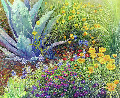 Tool Paintings - Gardeners Delight by Hailey E Herrera