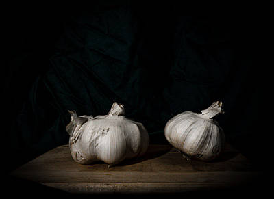 Photograph - Garlic Still Life by Sean Patrick Durham