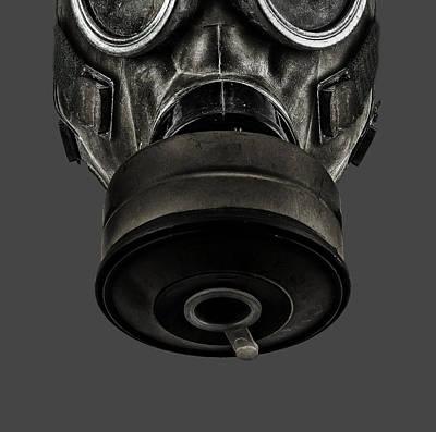 Digital Art - Gas Mask 2 by Dale Jackson