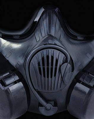 Digital Art - Gas Mask 4 by Dale Jackson