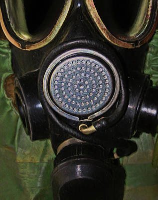 Digital Art - Gas Mask 5 by Dale Jackson