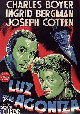 Halloween Movies - Gaslight - 1944 by Stars on Art