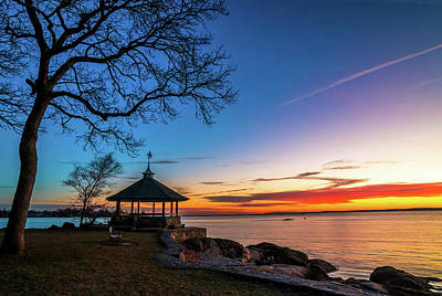 All You Need Is Love - Gazebo at Sunrise by June Marie Sobrito