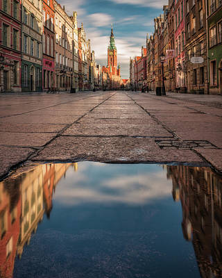 Photograph - Gdansk Town Hall by Tor-Ivar Naess
