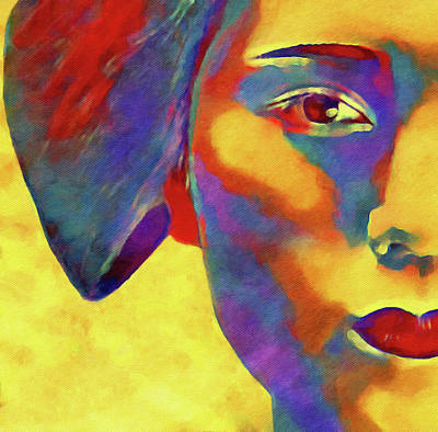 Surrealism Digital Art - Geiko by Susan Maxwell Schmidt