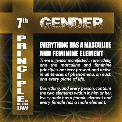 Digital Art - Gender by Az Jackson