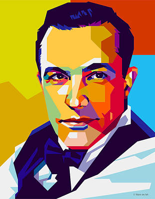 Royalty-Free and Rights-Managed Images - Gene Kelly - early career by Stars on Art