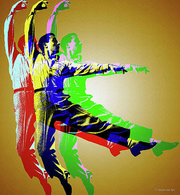 Royalty-Free and Rights-Managed Images - Gene Kelly by Stars on Art