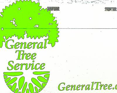 Jerry Sodorff Royalty-Free and Rights-Managed Images - General Tree Service 2 by Jerry Sodorff