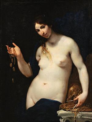 Painting - Generosity Or Liberality by Francesco Furini
